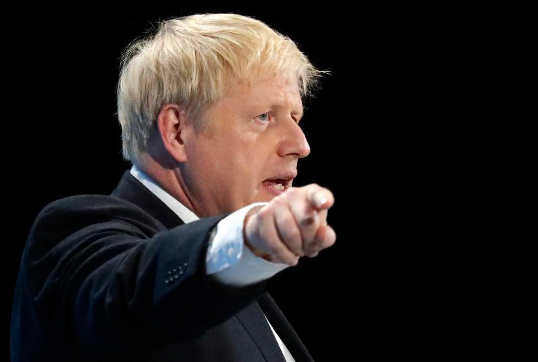 Boris Johnson vill ut ur EU den 31 oktober – oavsett vad. Arkivbild.