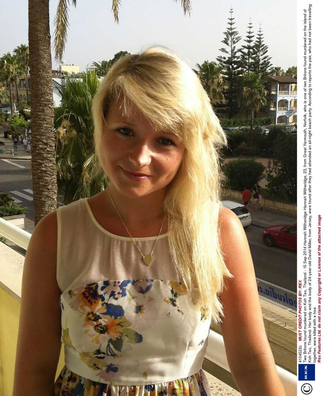 Hannah Witheridge, 23.
