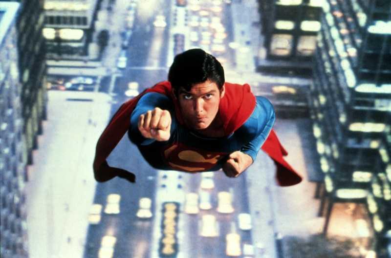 Stålmannen, Superman, the movie med Christoffer Reeve.