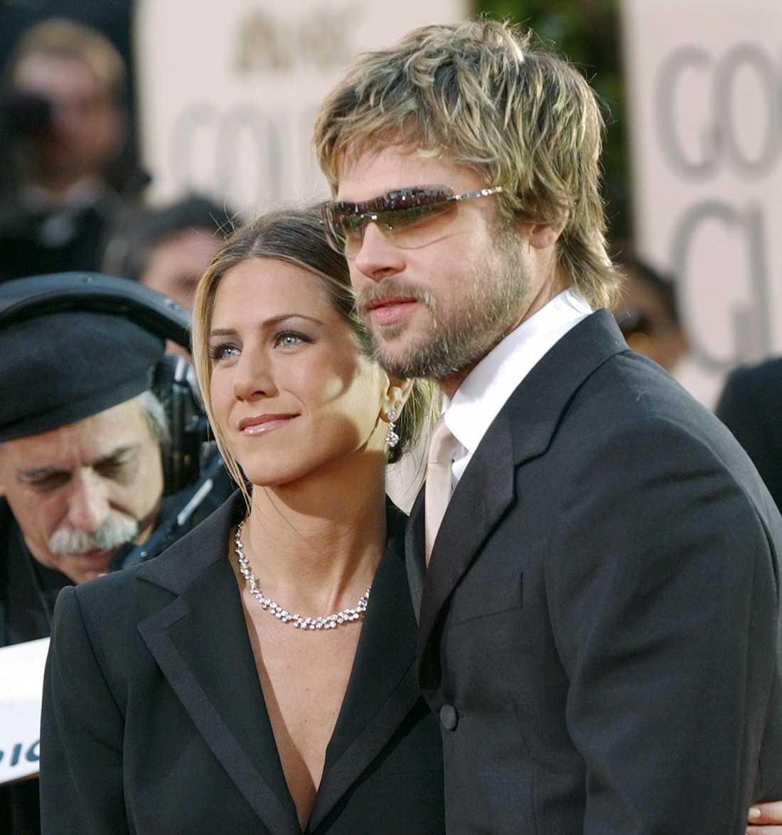 Pitt och Aniston 2002.