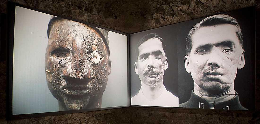 "Kader Attia, ""Open your eyes"", installationsvy, 2010. Foto: Kader Attia/BUS 2015"