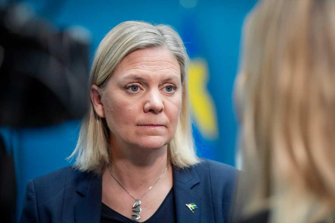 Finansminister Magdalena Andersson (S) väntas presentera fler finanspolitiska krisåtgärder till följd av coronapandemin. Arkivbild