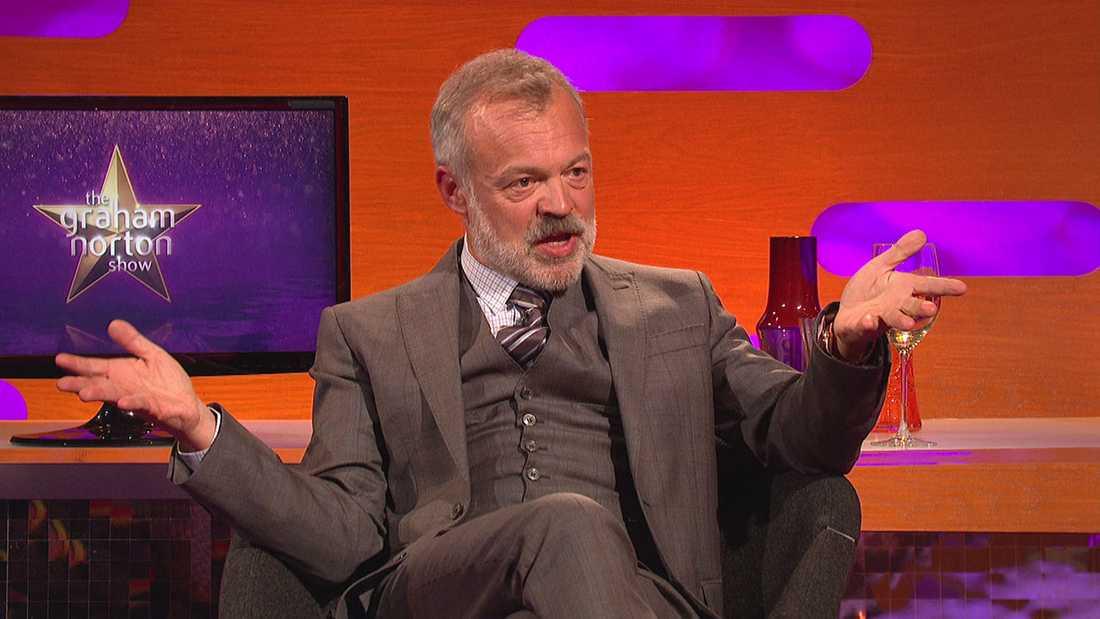 Hyllar det kitschiga och excentriska. Graham Norton har de bästa gästerna som har roligast i soffan.