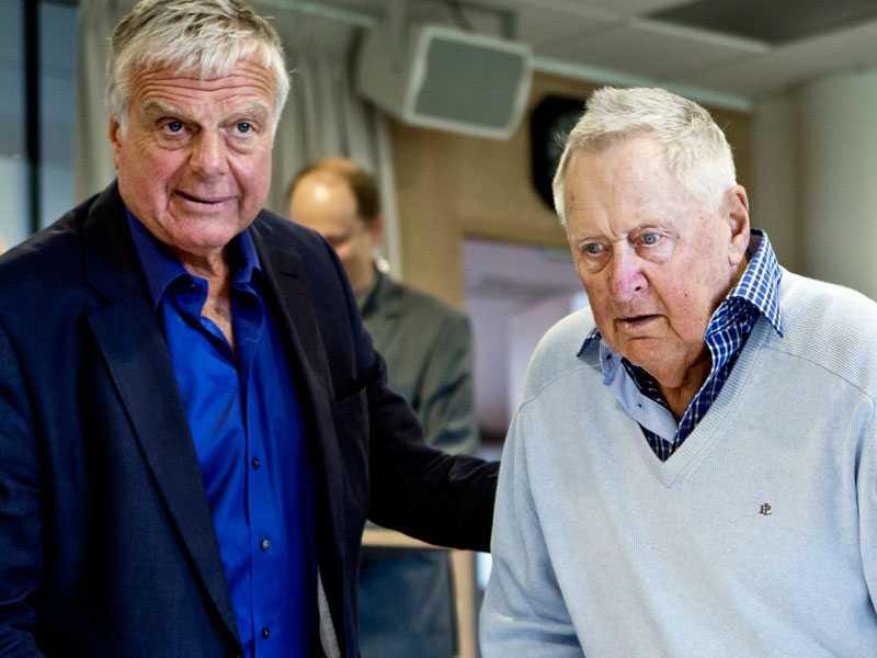 Engstrand besökte Lars-Gunnar på sjukhuset i september.
