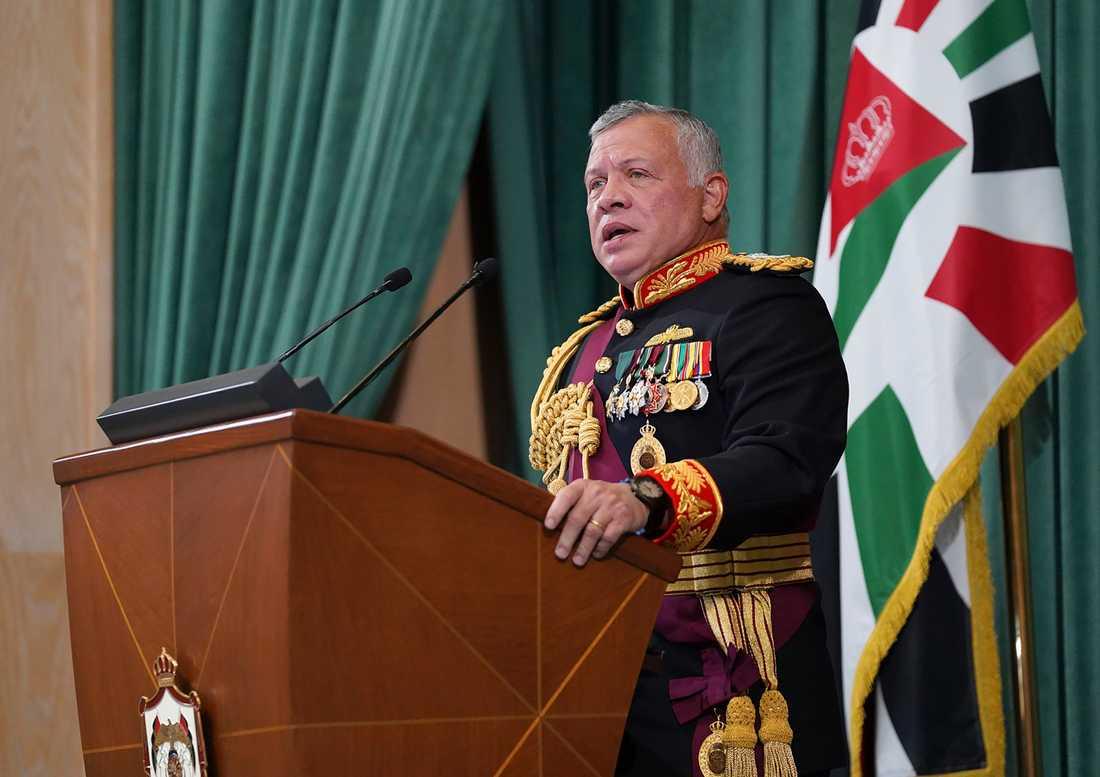 Jordaniens kung Abdullah säger att fejden mellan honom och hans bror är över. Arkivbild.