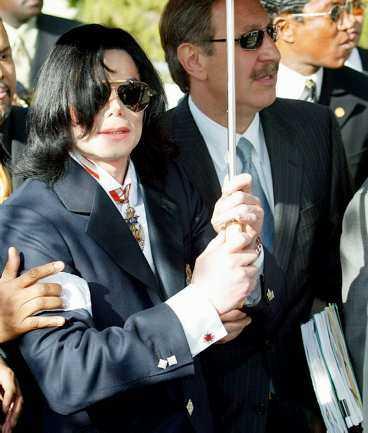 Kändisadvokaten Mark Geragos, här med Michael Jackson.