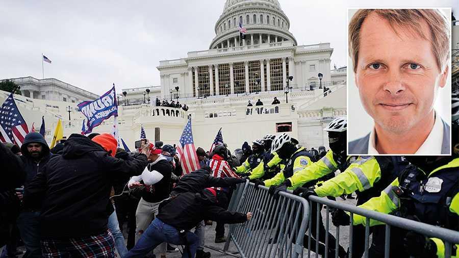 Betyder det som hände vid Capitol Hill något för Sverige? Troligen. Jag tror att även svensk politik och offentlighet behöver reflektion och självrannsakan, skriver Christer Nylander.