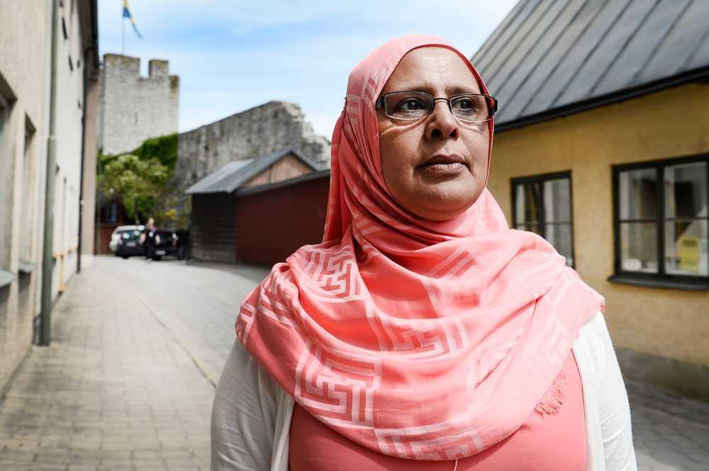 Aisha Mussagaas hotades av nazister från svenskarnas parti under Almedalsveckan.