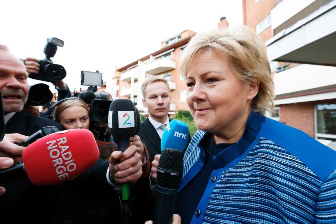 Inför valet på måndag talar mycket för dött lopp mellan blocken eller att Höyres Erna Solberg får fortsätta som statsminister.
