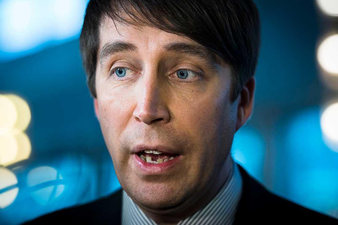 SD:s partisekreterare Richard Jomshof.