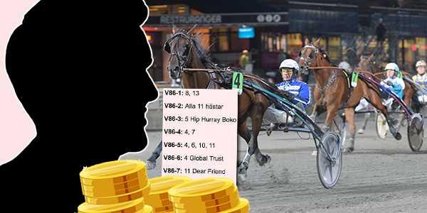 Mannen i Skåne vann 22,6 miljoner kronor.