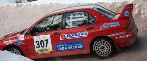 STCC-öraren Richard Göransson gjorde rallydebut med P-G Andersson som kartläsare. Göransson vann klassen för C-förare 4WD i LBC-ruschen.