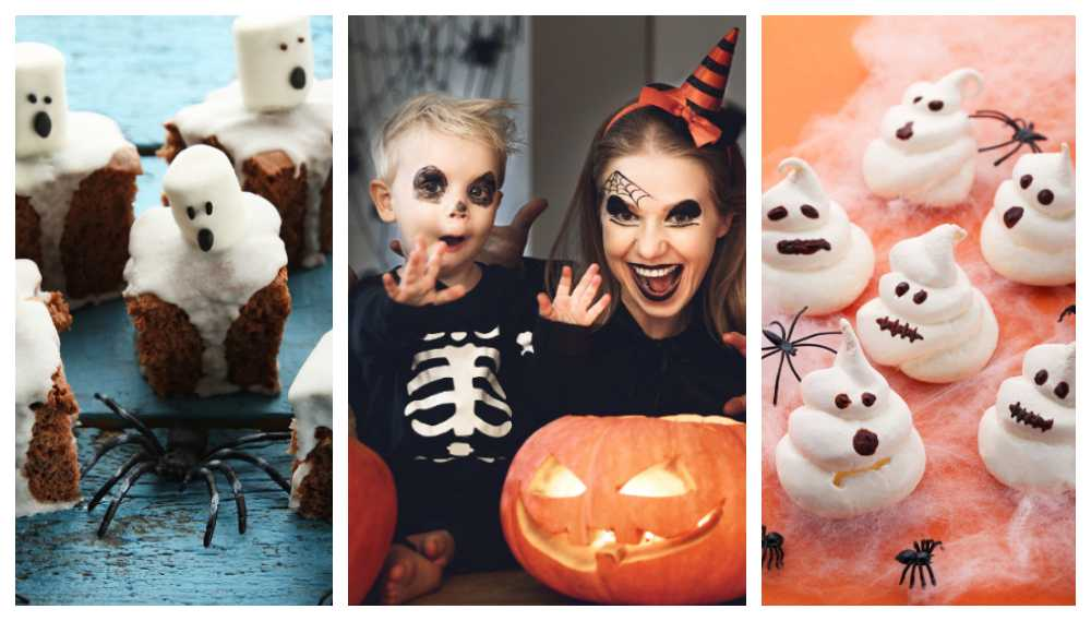 Halloween och godis hör ihop.