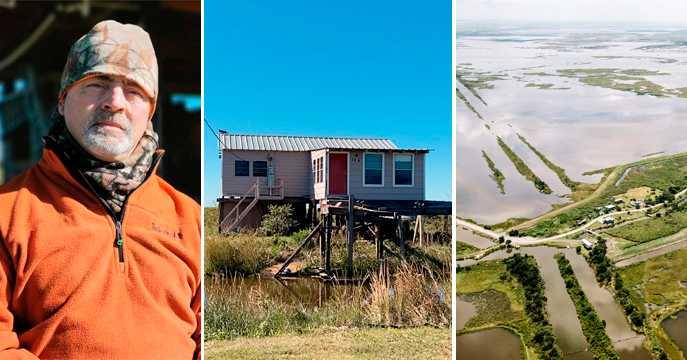 USA:s första miljöflyktingar måste lämna Isle de Jean Charles