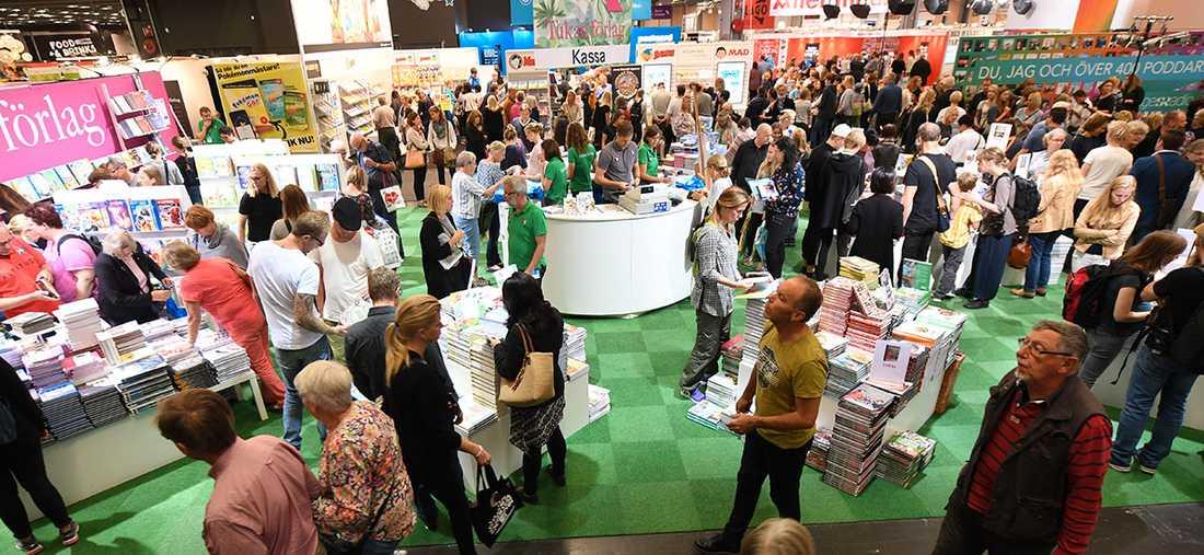 Debatten om bokmässan i Göteborg fortsätter.