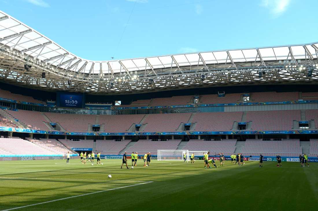 Allianz arena i Nice.