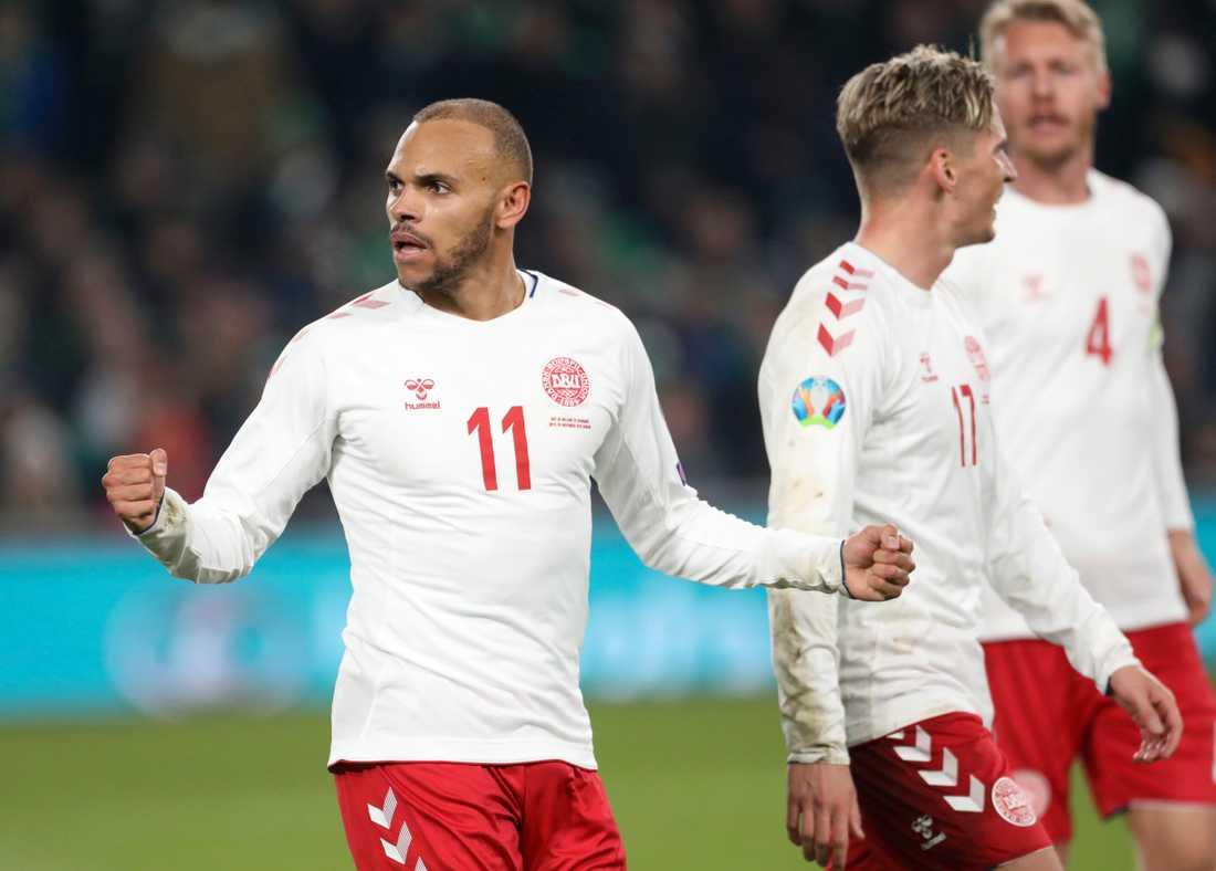 Danmark är vidare till EM efter att ha besegrat Irland.