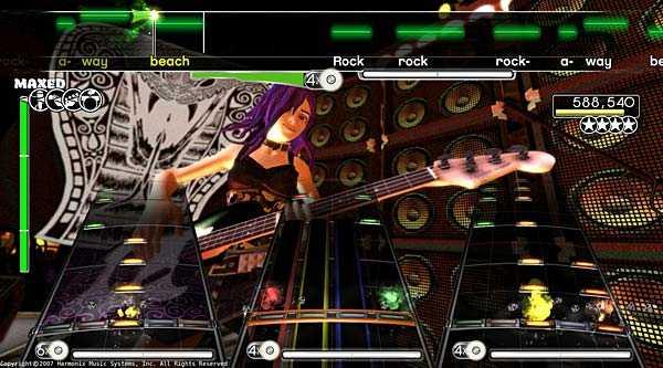 Rock band Simulator (PS3/Xbox 360/PS2)