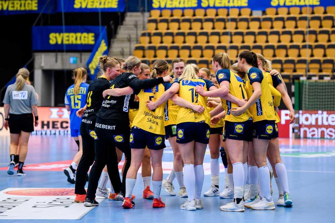 Sverige är klart för handbolls-VM i Spanien.