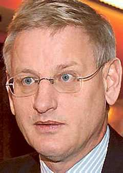 Carl Bildt.