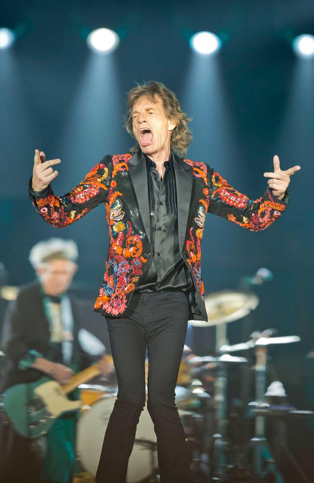 Mick Jagger. Arkivbild.