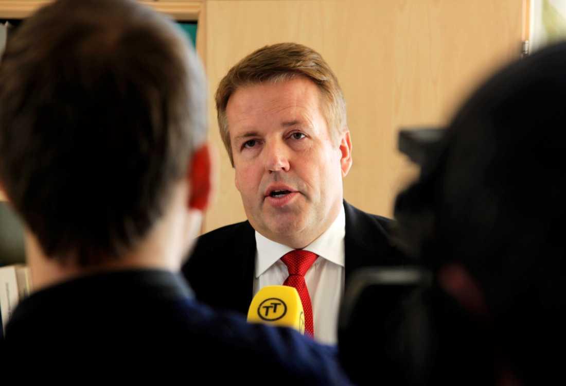 Lennart Strinäs, chefsrådman vid Malmö tingsrätt. Arkivbild