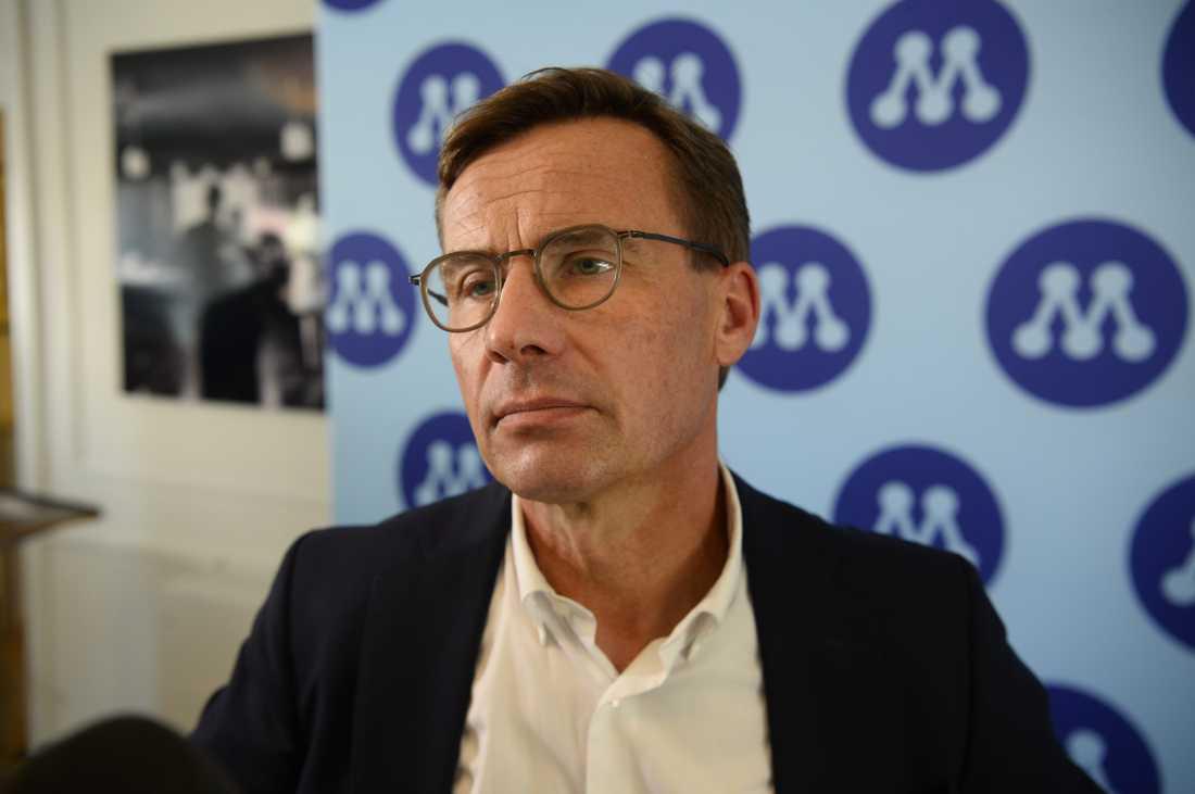 M-ledaren Ulf Kristersson