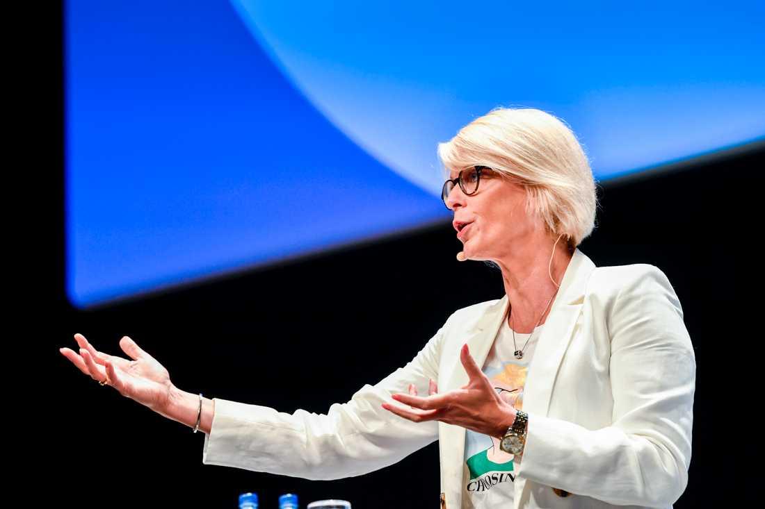 Elisabeth Svantesson (M), ekonomiskpolitisk talesperson, säger att partiet vill dra ner på det svenska biståndet. Arkivbild.