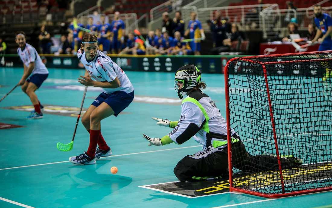 Jelsnes i norska målet i VM.