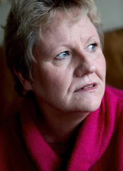 Susanne Fröroth, 51, blev förlamande trött i samband med sin första graviditet.