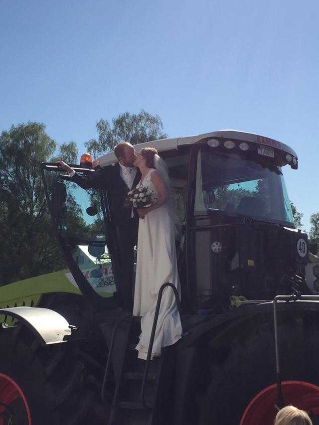 Andreas och Hanna har nu gift sig.