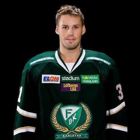 Dick Axelsson fotograferad inför förra säsongen i Färjestad.