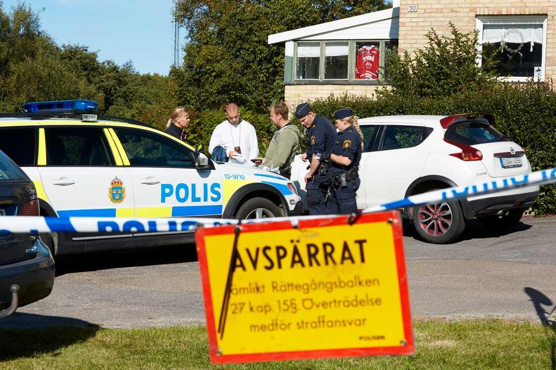 Kvinna hittad död i Sundsvall.