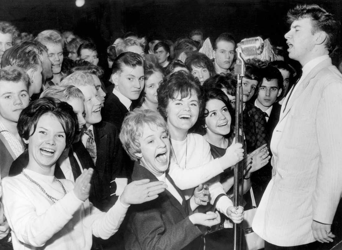 Jerry Williams på scen 1961.