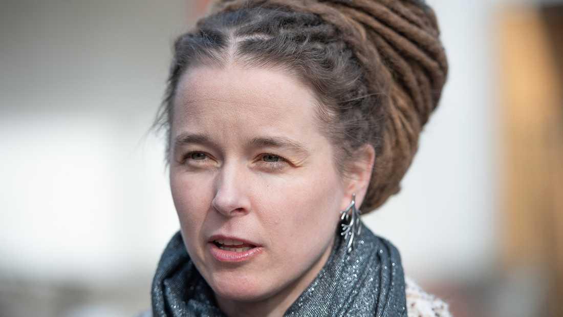 Idrotts- och kulturminister Amanda Lind (MP)