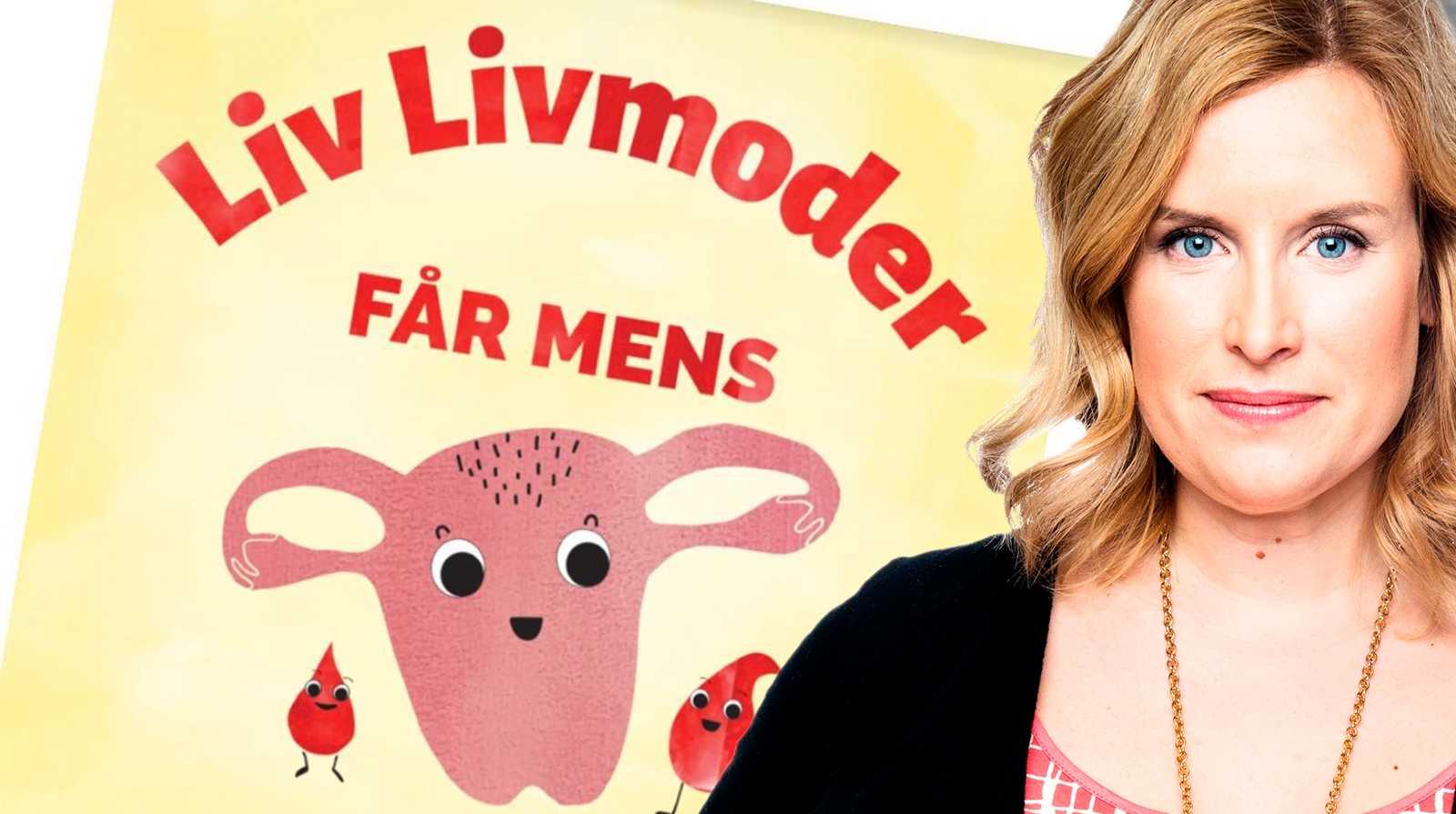Angelica Öhagen skriver om mensboken för barn.