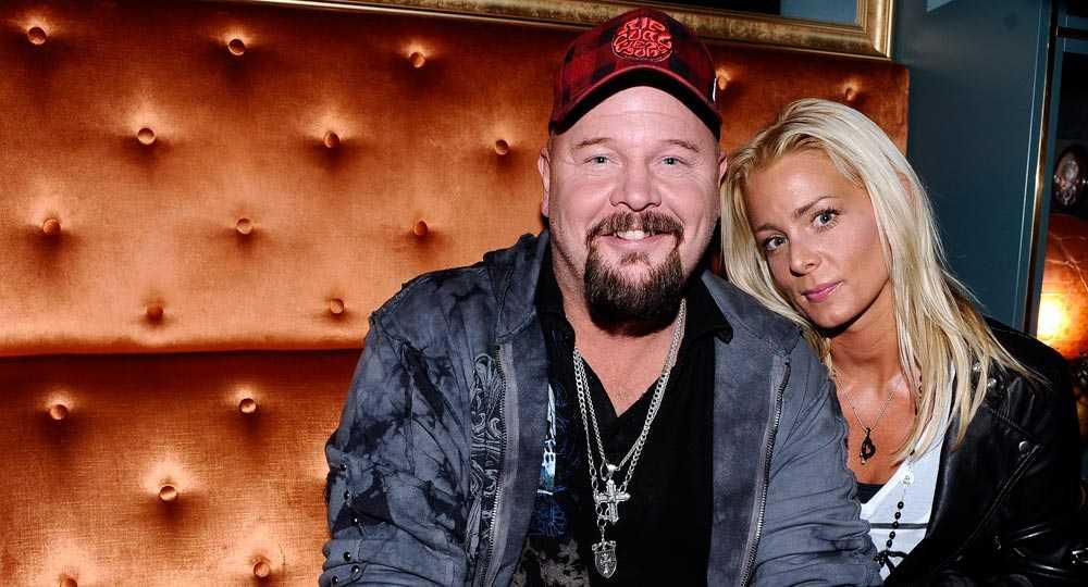 """Anders och Sarah har tagit """"en andlig paus två konstnärer emellan""""."""