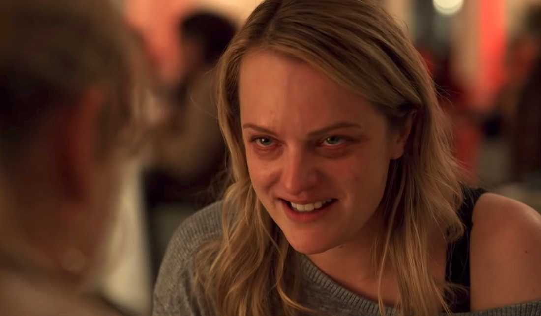 """Elisabeth Moss i """"The invisible man""""."""