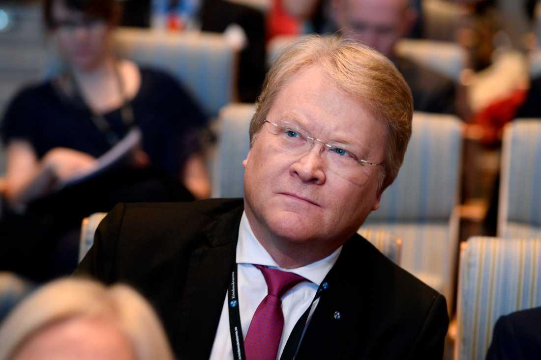 Lars Adaktusson har lämnat KD:s partistyrelse och rollen som andre vice partiledare. Arkivbild.