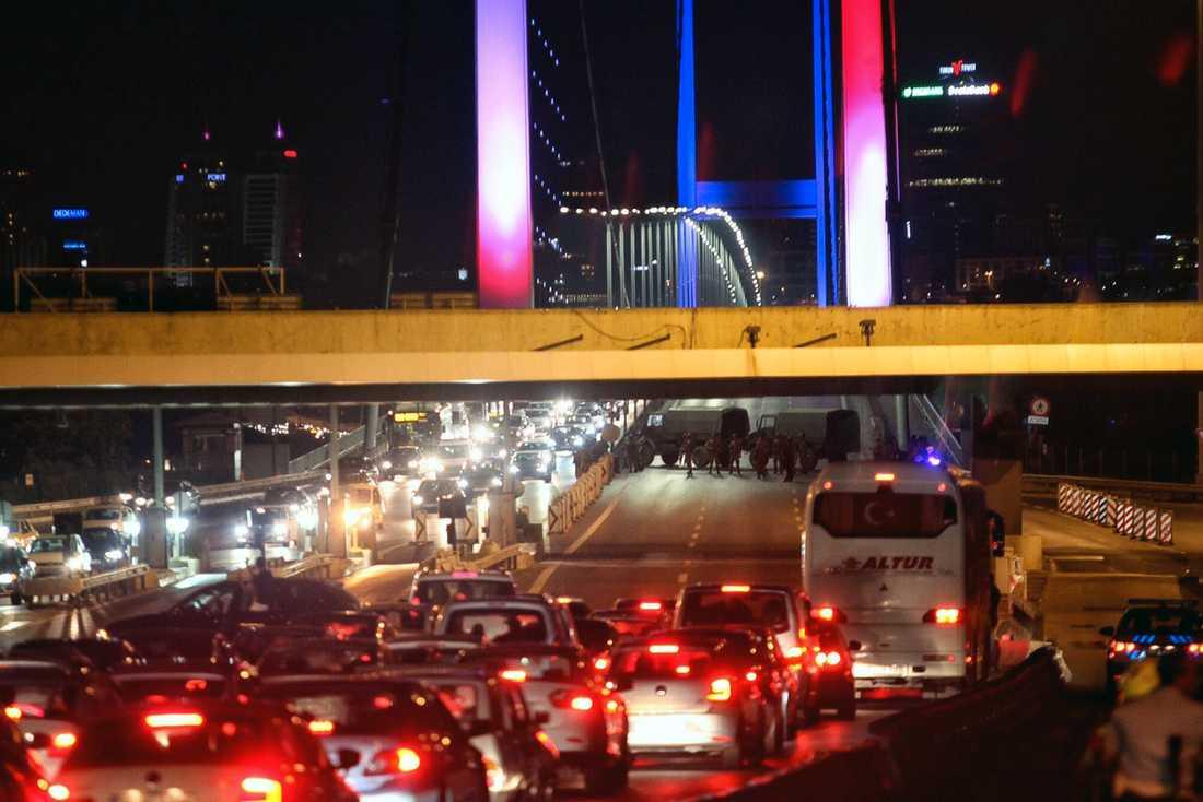 Bosphorusbron i Istanbul.
