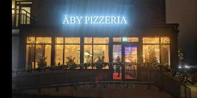 Åby pizzeria.
