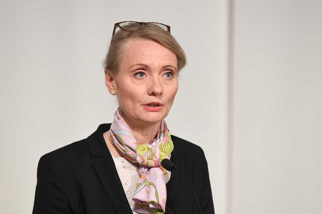 Karin Tegmark Wisell, avdelningschef på Folkhälsomyndigheten. Arkivbild.