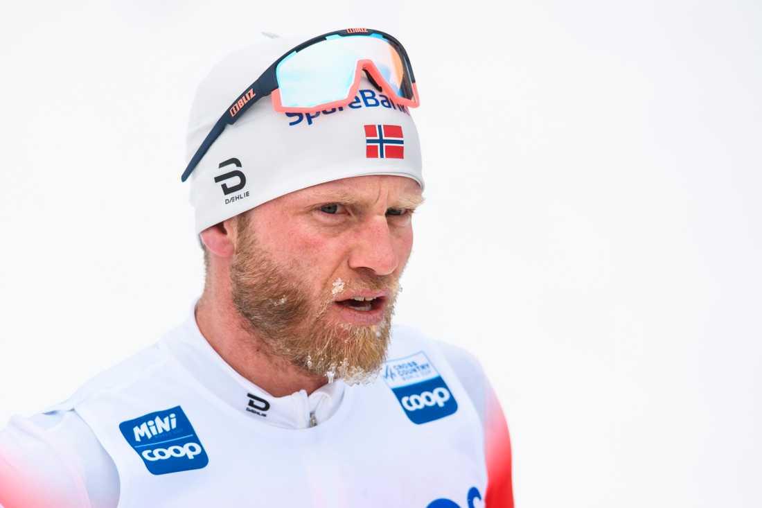 Martin Johnsrud Sundby har minskat träningsmängden med flera hundra timmar