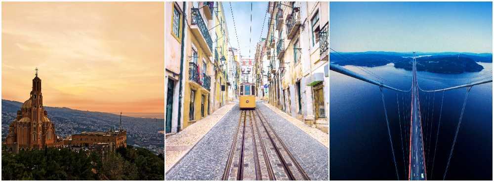 Kring Beirut, Lissabon och Örnsköldsvik cirklar nyheter i SAS nya program.