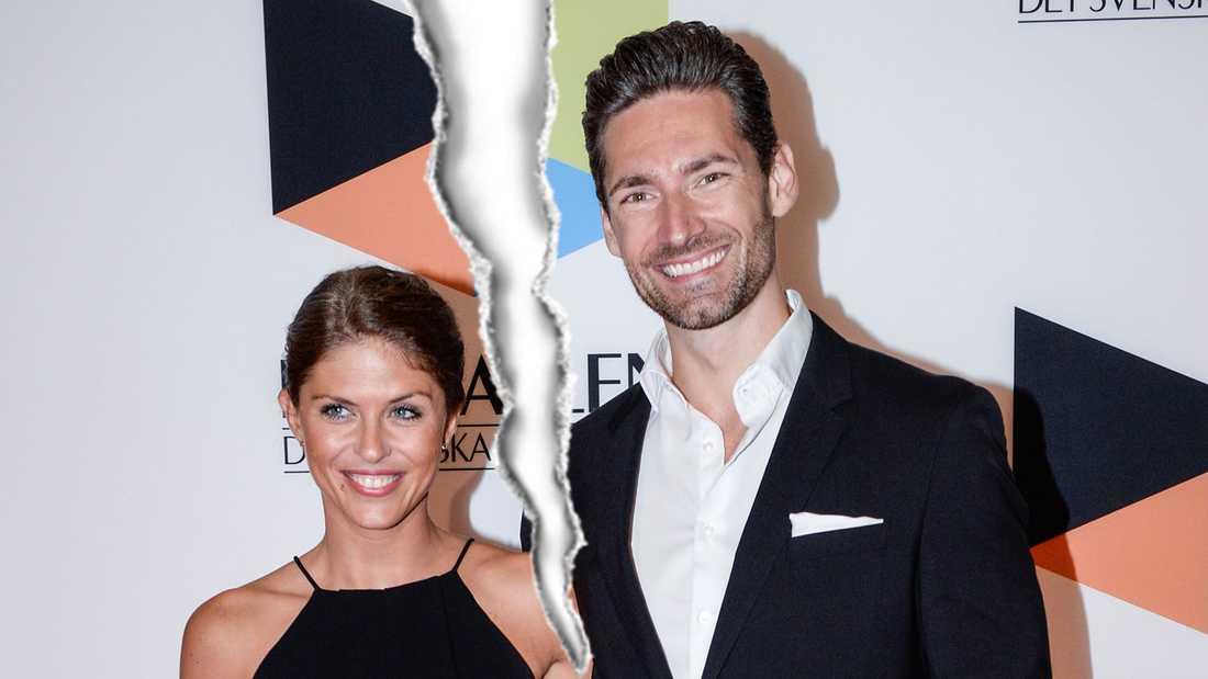 """Pär Nilsson och Rebecca Stenström träffades i """"Bachelor"""" 2015."""