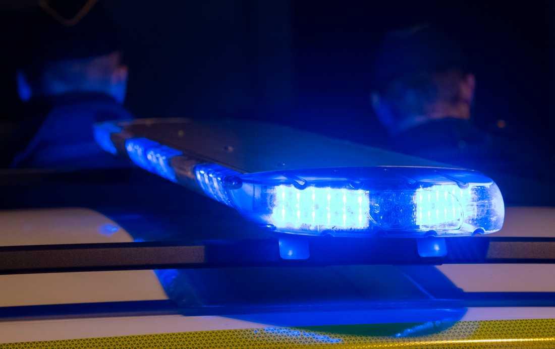 Polisen utreder ett misstänkt mordförsök i centrala Stockholm. Arkivbild.