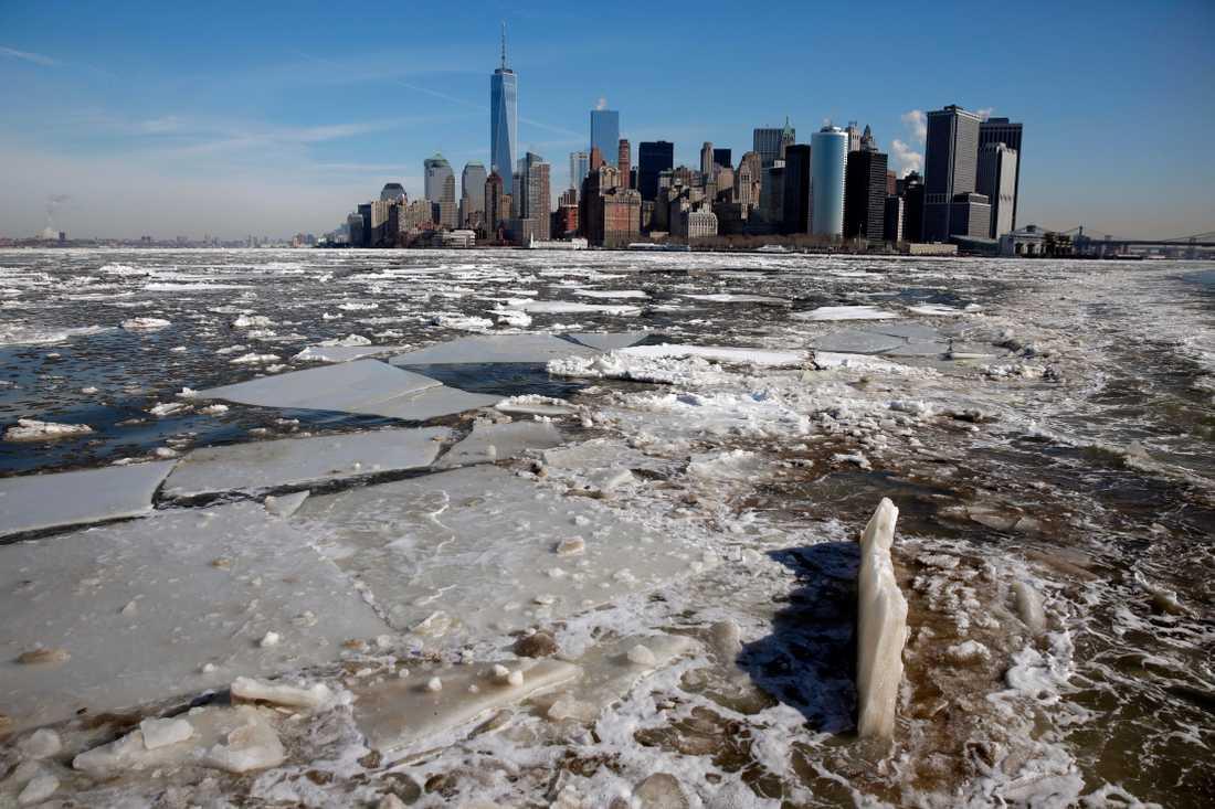 New York riskerar att drabbas av upp till fyra katastrofer samtidigt, enligt studien.