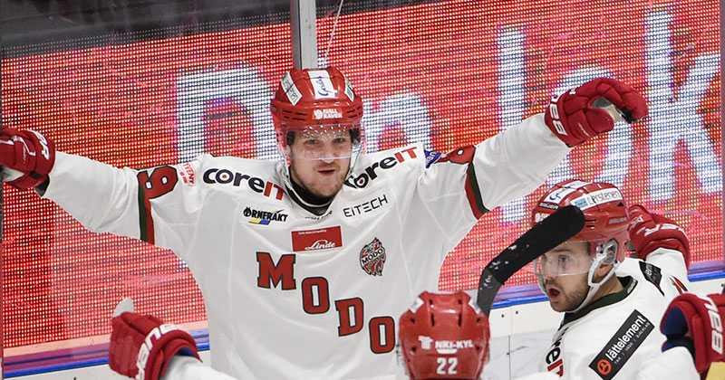 Patrik Karlkvist är på väg hem till Modo.