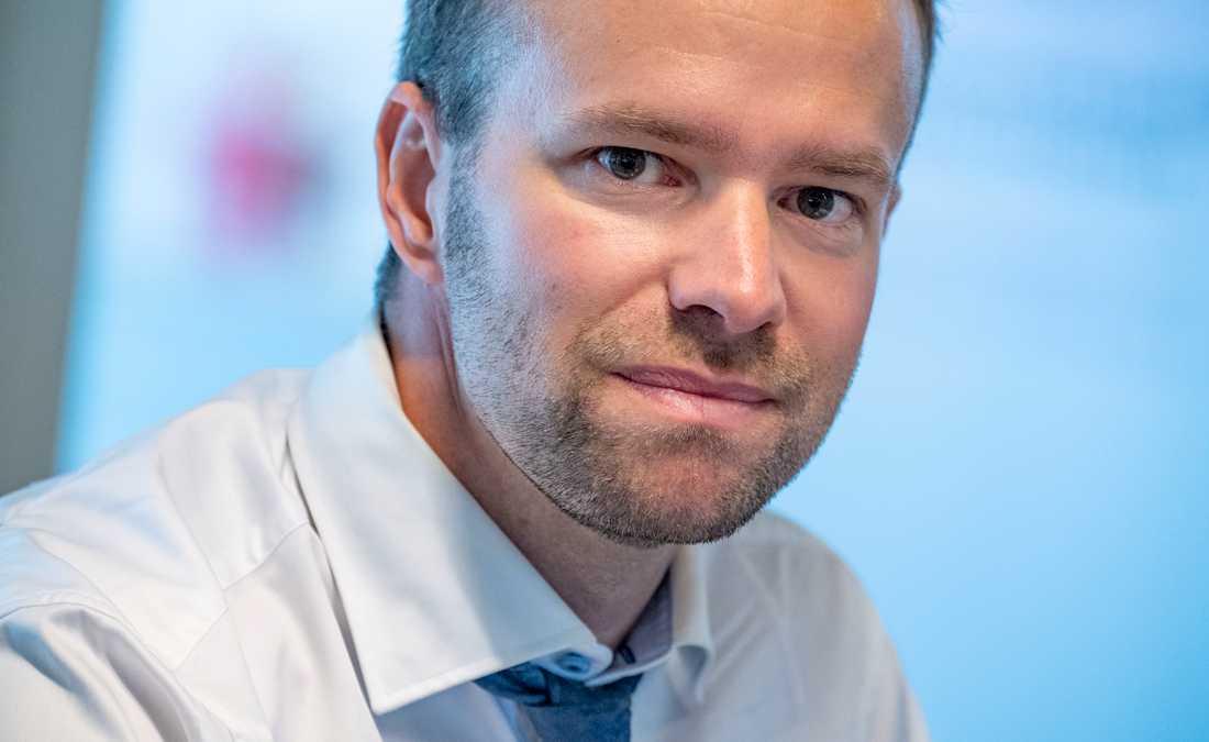 Anders Persson, Mellanösternexpert och doktor i statsvetenskap vid Lunds universitet. Arkivbild..