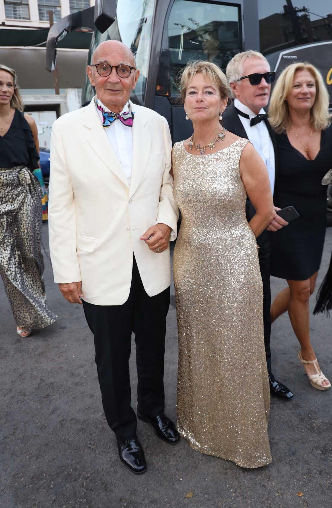 Ulf Adelsohn och Lena Adelsohn Liljeroth.